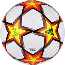 adidas Champions League Training Voetbal Maat 5 PS Wit Rood Geel