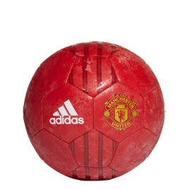 adidas Manchester United Club Voetbal Maat 5 Rood Goud