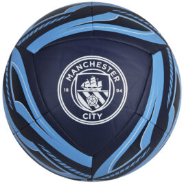 PUMA Manchester City Icon Voetbal Maat 5 Donkerblauw Wit